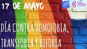 DIA INTERNATIONAL CONTRA HOMOFOBIA, TRANSFOBIA Y BIFOBIA