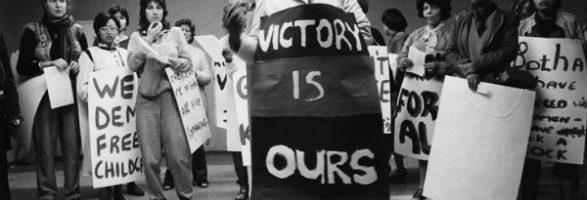 Día Internacional de la Solidaridad con la lucha de la Mujer en Sudáfrica y Namibia